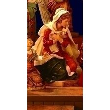 Scale Mary Nativity Figurine Christmas Decoration