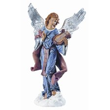 "50"" Scale Standing Angel on Cloud Figurine"