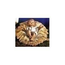 Infant Jesus and Manger Set