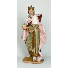 Scale Standing King Melchior Figurine Christmas Decoration