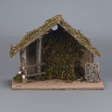 "5"" Scale Medium Italian Nativity Stable"