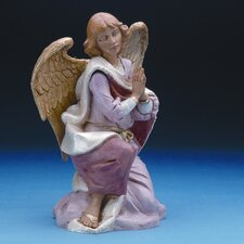"18"" Scale Kneeling Angel Figurine"