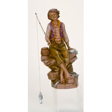 "12"" Scale Jacob Fisherman Figurine"