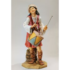 Scale Drummer Boy Christmas Decoration