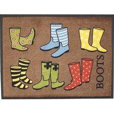 Fußmatte Boots