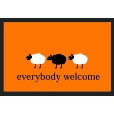 Fußabstreifer Everybody Welcome