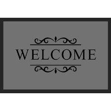 Fußabstreifer Welcome