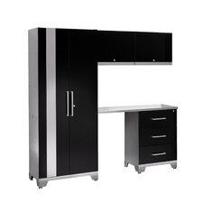 Performance Series 7' H x 8' W x 2' D 5 Piece Cabinet Set