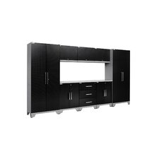 Performance Diamond Series 6' H x 11' W x 1.5' D 9 Piece Cabinet Set