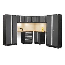 Bold 3.0 Series 12-Piece Garage Storage Cabinet Set with Worktop