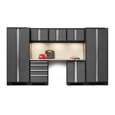 Bold 3.0 Series 8 Piece Garage Storage Cabinet Set with Worktop