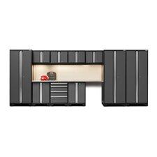 Bold 3.0 Series 12 Piece Garage Storage Cabinet Set with Worktop