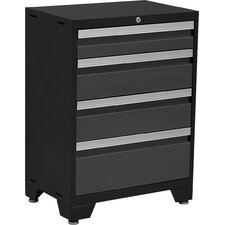 "Bold 3.0 Series 24""W 4-Drawer Side Chest"