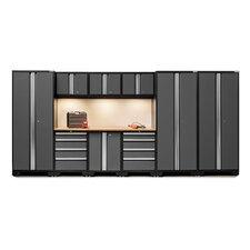 Bold 3.0 Series 10 Piece Garage Storage Cabinet Set with Worktop