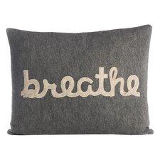 Zen Master Breathe Throw Pillow