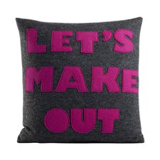 It Start With A Kiss Let's Make Out Throw Pillow