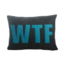Modern Lexicon WTF Lumbar Pillow