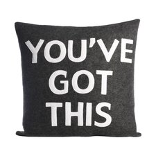 Zen Master You've Got This Throw Pillow