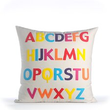 Play Room ABC Eco-Throw Pillow