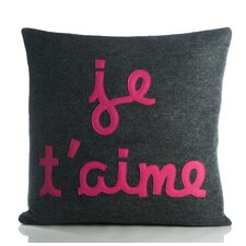 It Start With A Kiss Je T'Aime Throw Pillow