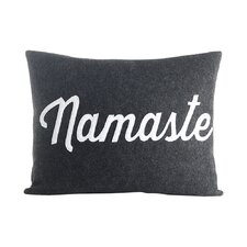 Mantras Namaste Throw Pillow