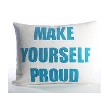 Go To The Gym Make Yourself Proud Throw Pillow
