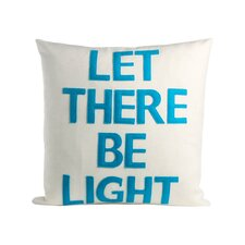 Let There Be Light Organic Throw Pillow