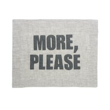 """More, Please"" Placemat"