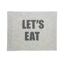 """""""Let's Eat"""" Placemat"""