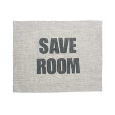 """Save Room"" Placemat"