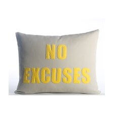 Go To The Gym No Excuses Throw Pillow