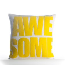 Awesome Outdoor Throw Pillow