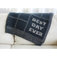Best Day Ever Throw Blanket