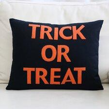 """""""Trick or Treat"""" Canvas Lumbar Pillow"""