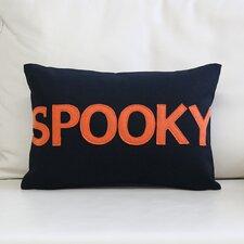 """""""Spooky"""" Canvas Lumbar Pillow"""