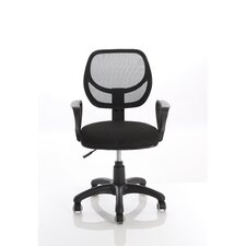 Meshlet Mid-Back Mesh Desk Chair with Arms