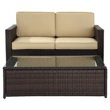 Crosson 2 Piece Deep Seating Group with Cushions
