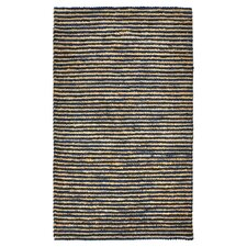 Valerie Hand-Woven Navy Area Rug