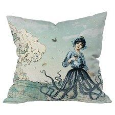 Belle13 Sea Fairy Throw Pillow