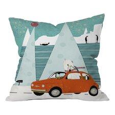 Brian Buckley The Polar Express Throw Pillow