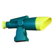 Telescope Swing Set Accessory in Green & Yellow