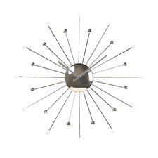 "Starburst 18"" Wall Clock"