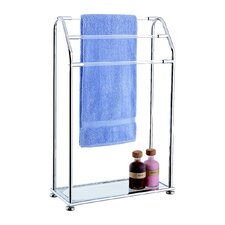 Acrylic Free Standing Towel Stand