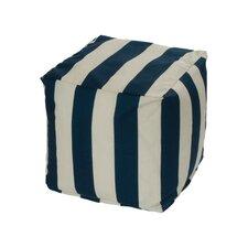 Cabana Bean Bag Cube Ottoman