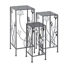 3 Piece Plant Stand Set