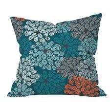Khristian A Howell Greenwich Gardens Throw Pillow