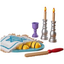 21 Piece Shabbat Set