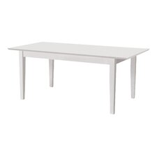 Linen Extendable Dining Table
