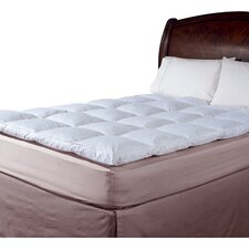 233 Thread Count Cotton Cover Featherbed Topper