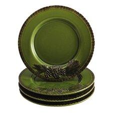 Sierra Pine Salad Plate (Set of 4)